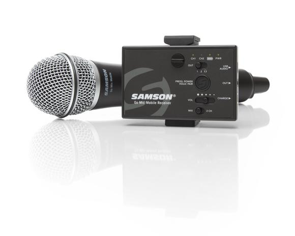 Samson Go Mic Mobile Professional Handheld Wireless System 1