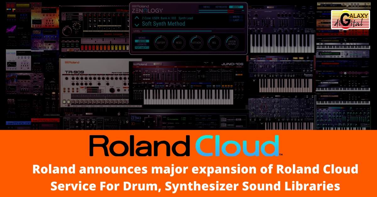 Roland announces major expansion of Roland Cloud