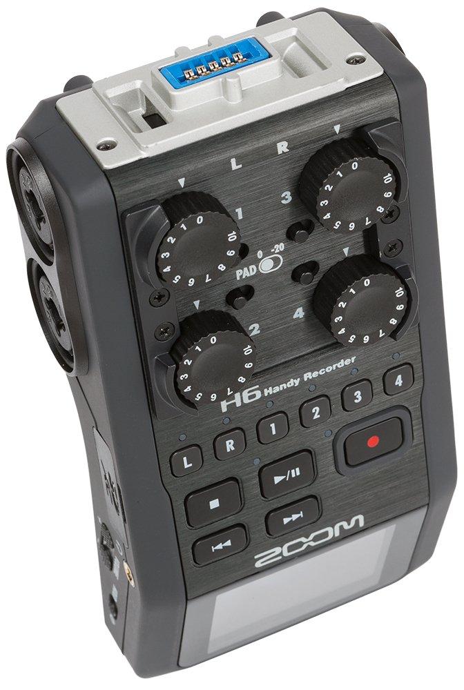 ZOOM H6 Handy Recorder 3