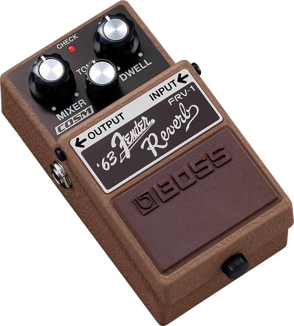 Boss FRV-1 Fender Reverb Guitar Effects Pedal 2