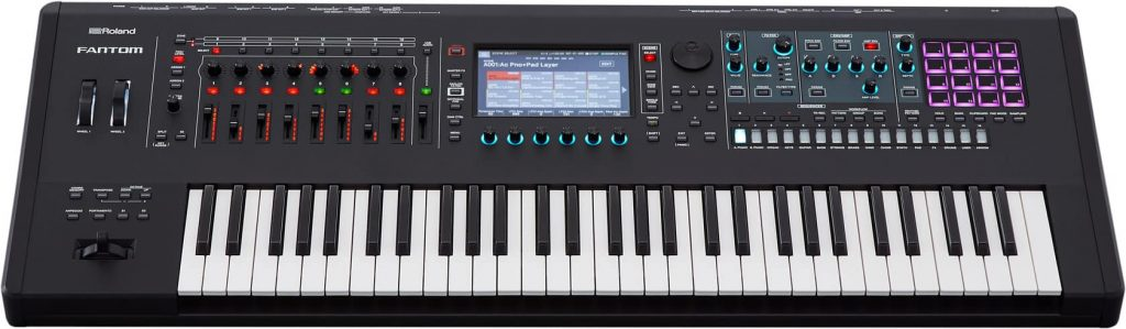 Buy Roland Fantom 6 Synthesizer Keyboard in India 2