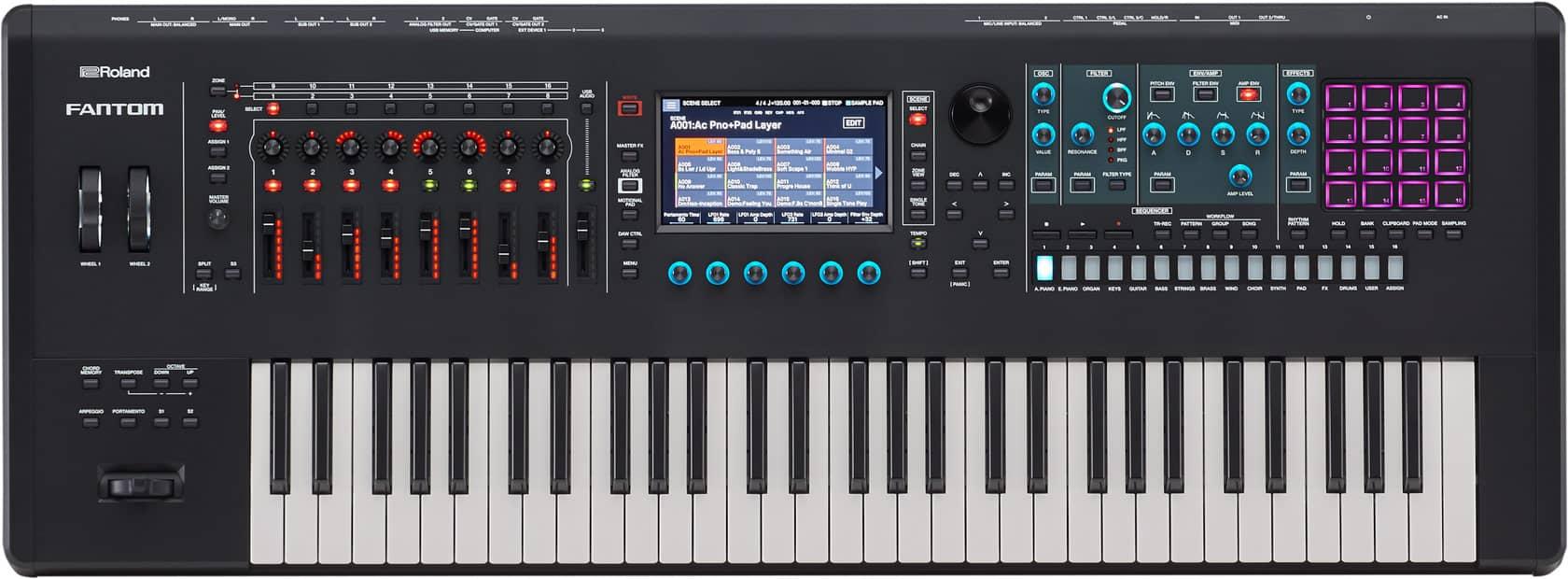 Buy Roland Fantom 6 Synthesizer Keyboard in India