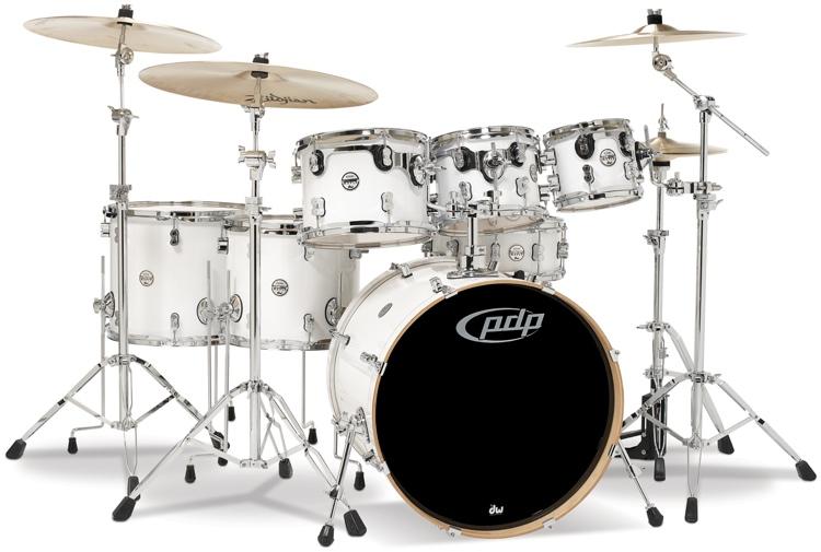 Concept Maple 7 - Piece Pure White