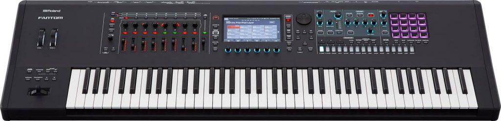 Roland FANTOM-7 Music Workstation Keyboard 02