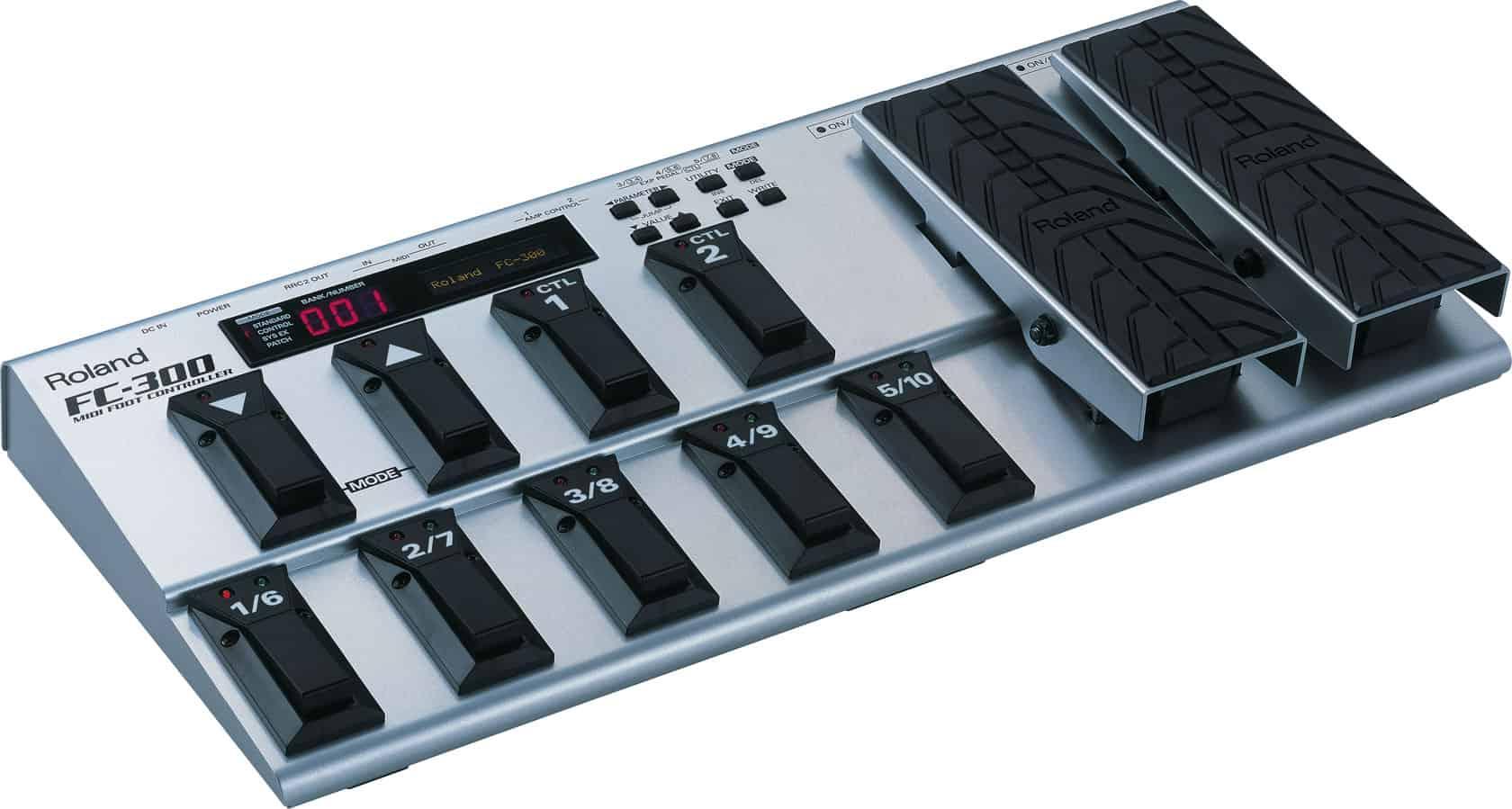 Roland FC-300 MIDI Foot Controller 2
