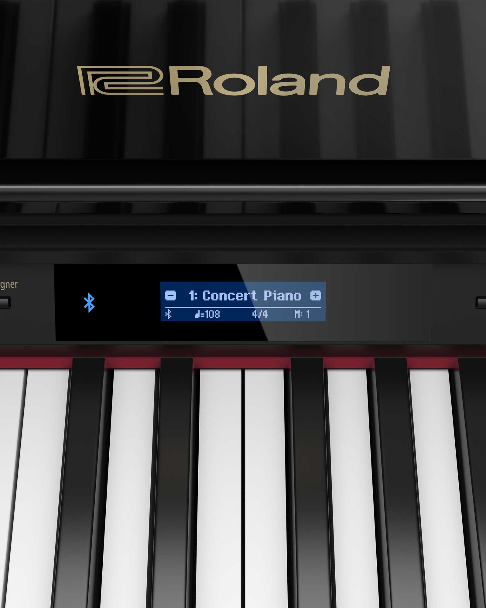 Roland GP-607 PEL Digital Grand Piano bluetooth