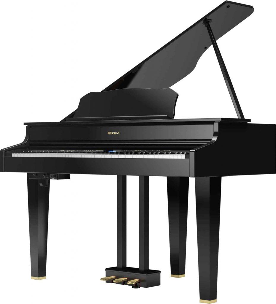 Roland GP-607 PEL Digital Grand Piano with pedal