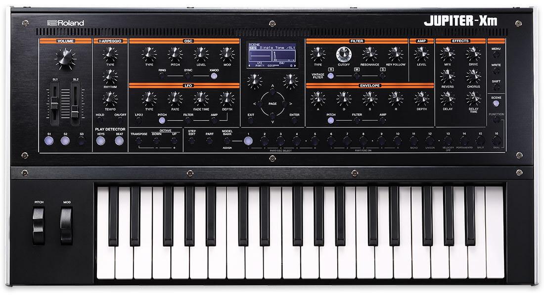 Roland Jupiter-Xm Portable Synthesizer