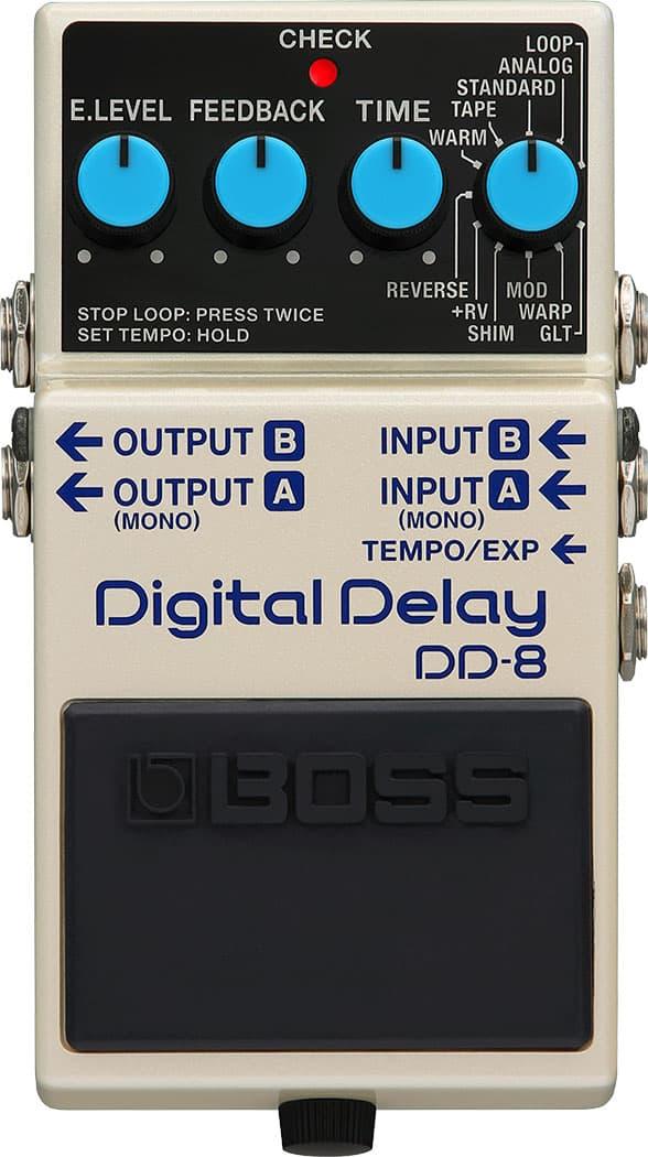 Boss DD-8 Digital Delay Pedal