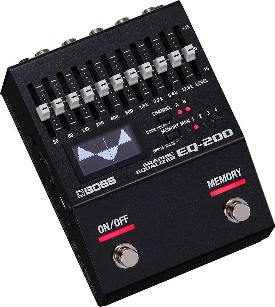 Boss EQ-200 Graphic Equalizer Pedal