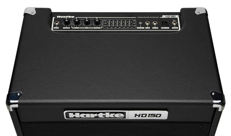 Hartke HD150 Bass Combo Amp top view