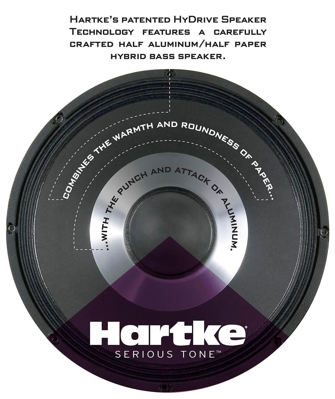 Hartke HD25 Bass Combo Amp speaker