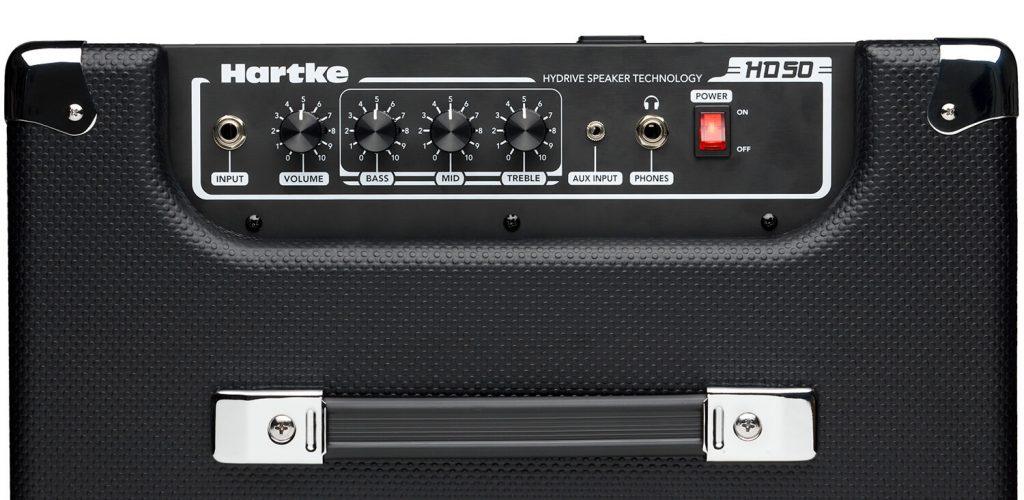 Hartke HD50 Bass Combo top view